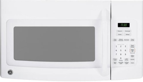 Price comparison product image Ge MICROWAVES 1505201 1.7 Cu.ft. Over-The-Range Microwave Oven,  White,  1000 W
