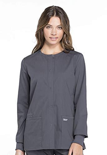 Cherokee Workwear Professionals Snap Front Warm-up Scrub Jacket
