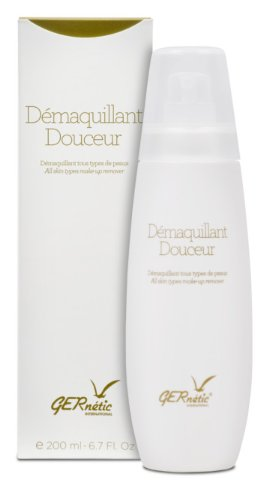 GERne'tic DÉMAQUILLANT DOUCEUR All skin types make-up remover 6.7oz by Gernetic (Image #1)