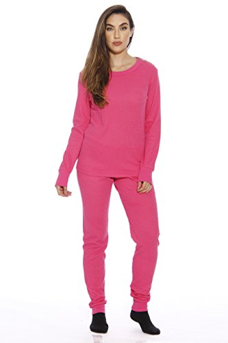 - Just Love 95862-Pink-3X Women's Thermal Underwear Set/Base Layer Thermals