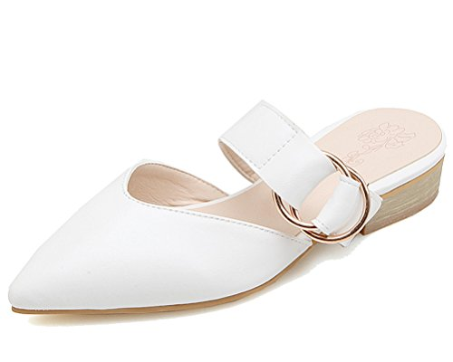Mules HiTime HiTime Femme Blanc Mules 0HEXFP8qPw