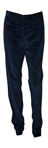 - Dolce & Gabbana Women's Sueded Cotton Pants (44, Navy Blue) Size 10