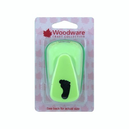 Woodware Large Lever Craft Punch - Foot by Woodware Craft Collection Ltd Woodware Craft Punches