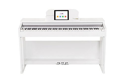 The ONE Smart Piano, Weighted 88-Key Digital Piano, Grand Graded Hammer-Action Keys Upright Piano-Classic ()