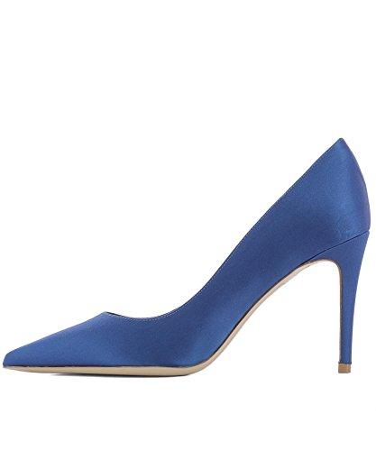 Deimille Escarpins 3104091LO DEI Femme Bleu MILLE Cuir 5AZxq1zw