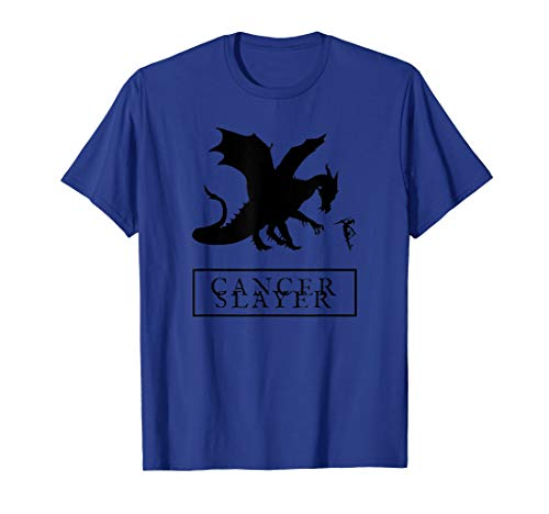 Dragon Slayer T-shirt - Cancer Slayer T-Shirt for Chemo Fighters and Survivors