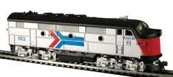 Model Power - F2A Loco Lighted Amtrak - Pack Power Ho