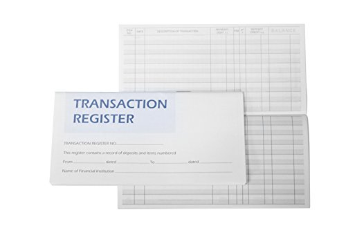 10 Checkbook Registers With 2018-2019-2020 Calendars