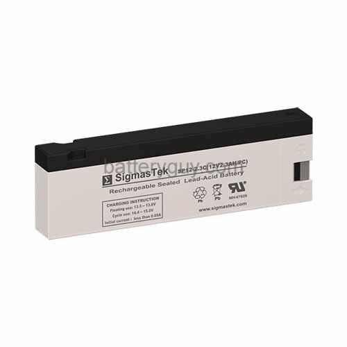 UPG UB1223A - AGM Battery - Sealed Lead Acid - 12 Volt - 2.3 Ah Capacity - PC.