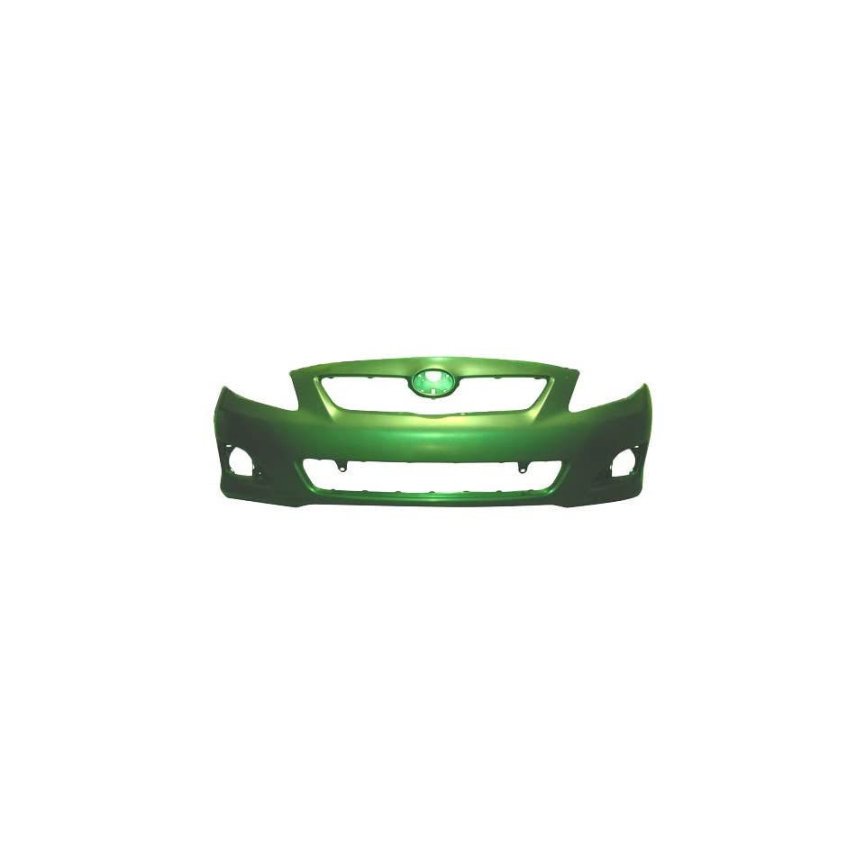 OE Replacement Toyota Corolla Front Bumper Cover (Partslink Number