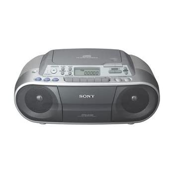 Sony CFDS01 CD Radio Cassette Recorder - Silver