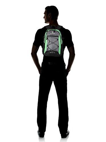 KIMBERFEEL Mochila Shan 15 Lt Verde / Gris 15L
