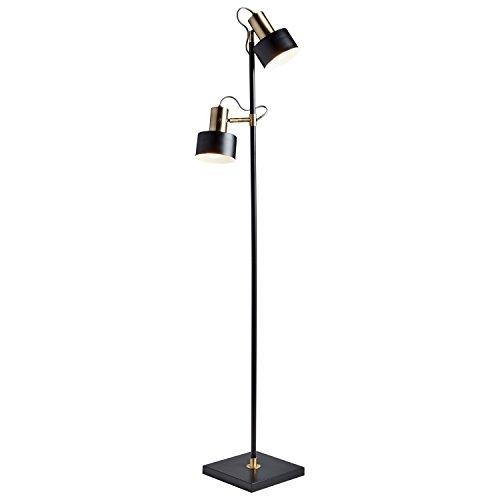 Braided Light Ceiling (Rivet Modern Metal Floor Lamp, 59.5