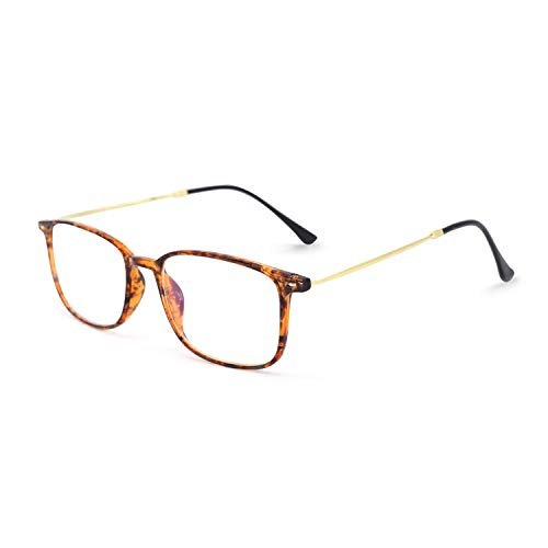 (OCCI CHIARI Fashion Womnen Thin Acetate Rectangular Eyewear Frames with Clear Lenses)