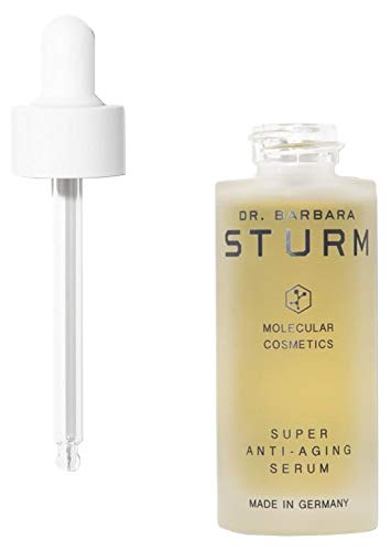 Dr. Barbara Sturm Super Anti-Aging Serum - Hydrating Serum with Low + High Molecular Weight Hyaluronic Acid Molecules - (30ml)