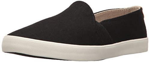 Roxy Women's Atlanta Slip on Shoe Fashion Sneaker, Black, 10 M US