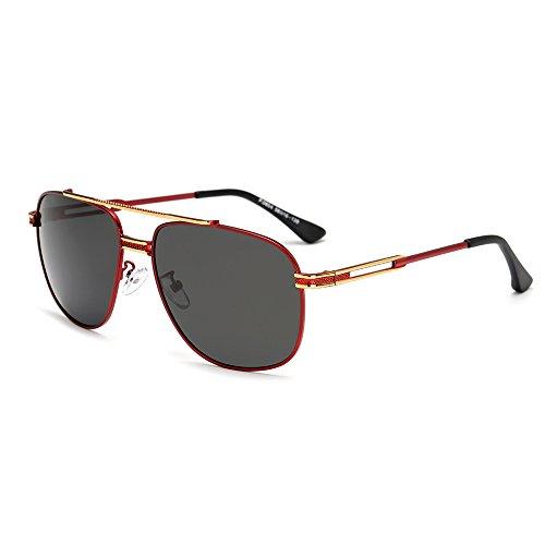 Vintage de Cicongzai Gran Sol Gafas de conducción para Sol para Sol Hombre Gafas Adultos Polaroid C3 de Moda de Sol Gafas Color C5 Espejo Gafas Gafas UV400 de UUBrqwx
