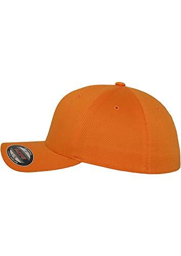 Da Lana Uomo Cappello Spicy Orange Flexfit In Pettinata xw15dId