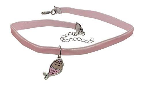 Pusheen Mermaid Tray Velvet Charm Choker Necklace Set by Pusheen (Image #4)