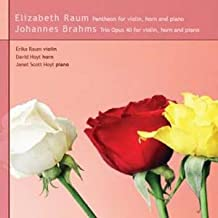 Raum and Brahms: Violin, Horn, Piano