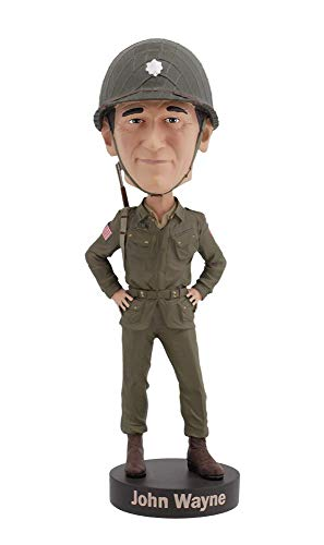 Royal Bobbles John Wayne Military WWII Bobblehead ()