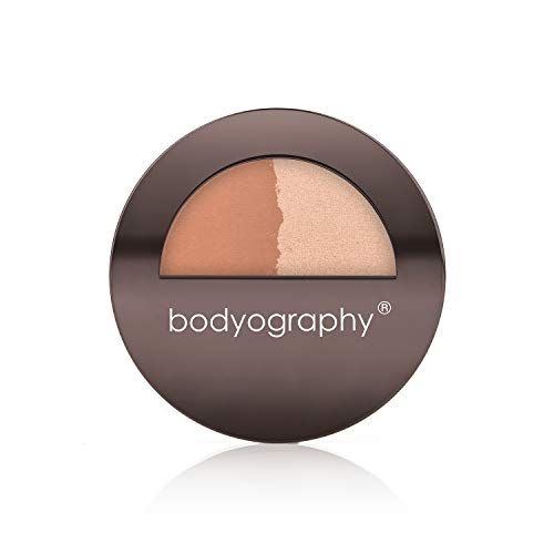 Bodyography Every Finish Powder (Sunsculpt): Bronzer and Highlighter Duo   Sculpts & Shine   Gluten-Free, Cruelty-Free ()