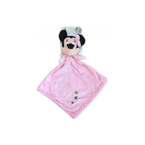 98ba5800b081f Disney doudou plat rose minnie - peluche enfant meilleur ...