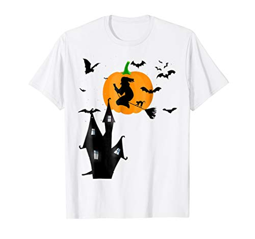 Funny Pumpkin Halloween Witches T-shirt