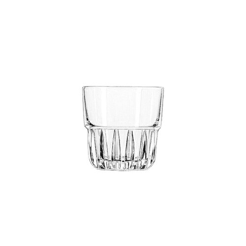 Libbey Glassware 15434 Everest Rocks Glass, Duratuff, 9 oz. (Pack of 36)