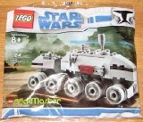 (Star Wars Lego BrickMaster Exclusive Mini Building Set #20006 Clone Turbo Tank (Bagged))