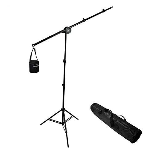 LimoStudio Photo Video Studio Overhead Hair Boom Light Stand, 86