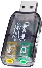 QUANTUM QHM623 USB SOUND CARD DRIVER FOR PC
