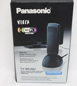 panasonic tv wifi adapter. panasonic wi-fi wireless-n adapter ty-wl20u w/ 1m cable \u0026 tv wifi e