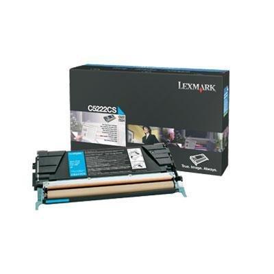 (Lexmark - C5222CS Toner, 3000 Page-Yield, Cyan)