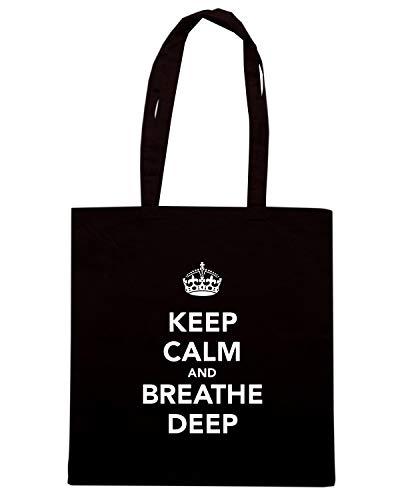 DEEP Shirt Shopper TKC1000 Nera AND BREATHE CALM Speed KEEP Borsa zq6qT