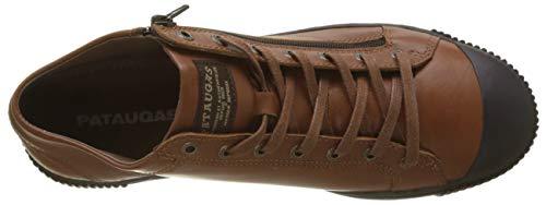 A Collo Pataugas Marron cognac Uomo H4d Sneaker 750 Bumper Alto qTTwCBA