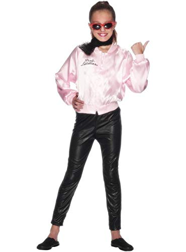 Funidelia Chaqueta de Pink Ladies para niña - Grease: Amazon ...