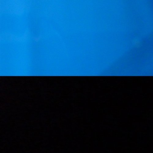 9092 24'' x 60'' Fish Tank Background 2 Sided Blue Sea/Black Deep Sea by Unknown