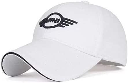 Black JDclubs Benz Logo Embroidered Adjustable Baseball Caps for Men and Women Hat Travel Cap Car Racing Motor Hat