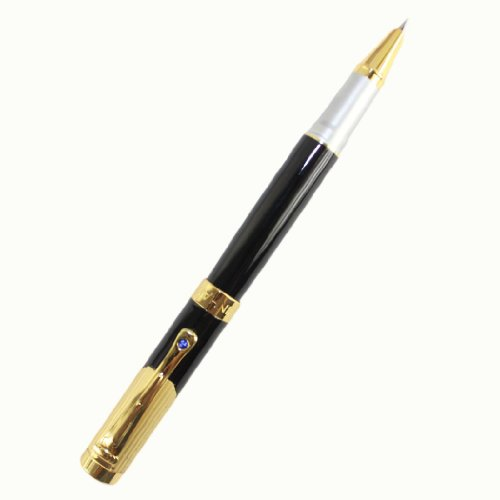 Cheap 1 X Advanced Fountain Pen Jinhao 9009 Fine Nib Black and Golden