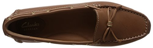 Clarks Dunbar Groove Tan Leather 4.5 UK D / 37.5 EU