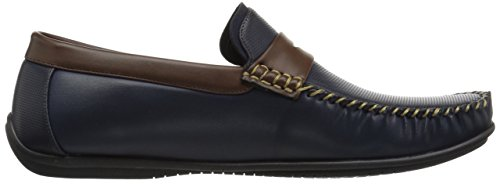 on Driving Toe Moc Valley Quail Brown Men's Loafer Bush Navy Penney Nunn Slip Style XzqU8Fq
