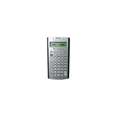 Texas Instruments Plus Professional Calculator,32 Cash Flows,3''x6''x3/5'',BK (BA II PLUS PRO) by Texas Instruments