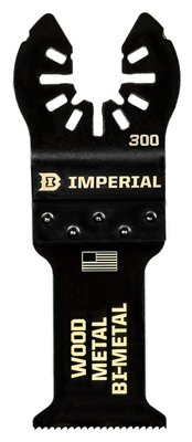 Imperial Blades IBOA300-1 Oscillating Tool Blade, Wood With Nails, Bi-Metal, 1.25-In. - Quantity 25