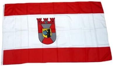 Fahne Flagge Fu/ßball Hamburg NEU 90 x 150 cm Flaggen