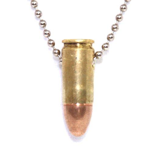 Cobrabraid Bullet Necklace 24 Inch Nickel