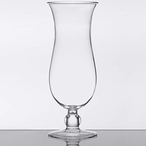 15 oz. Clear Plastic Hurricane Glasses, Break Resistant, Dishwasher Safe, Reusable, GET HUR-1-CL (Qty, 12) by Unknown (Image #5)