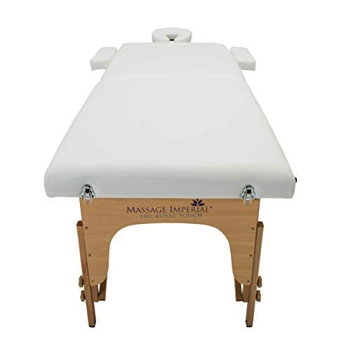 Massage Imperial® Deluxe Lightweight Ivory White 3-Section