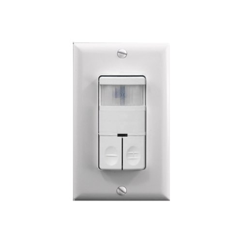 NICOR Lighting Wall Switch Occupancy/Motion Sensor with D...