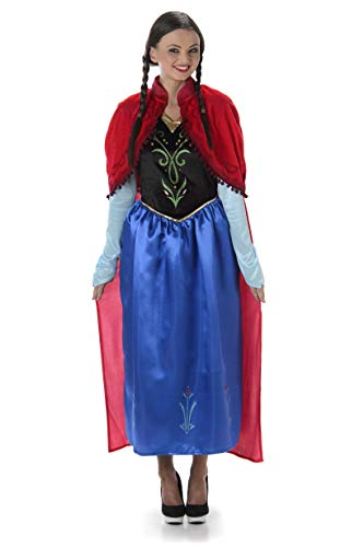 Winter Princess Costume - Halloween Womens Fairytale Storybook Outfit, X-Small